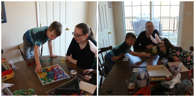 We played several board games, including Batman, Blokus, and Mouse Trap. Nice to see the kids enjoy board games just as much as us.