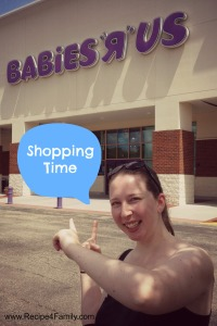 Jessica was ecstatic to finally explore a Babies R Us.