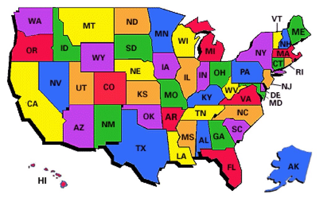 Day 52: #1 on My Bucket List – Recipe for Family  States In The Us on
