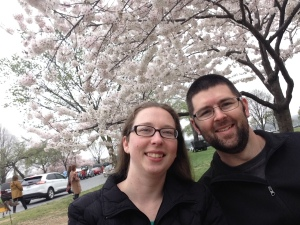 us at Cherry Blossoms 2016