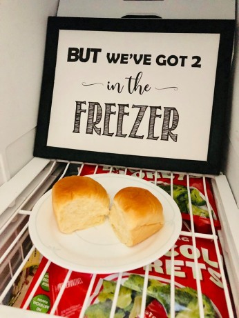 buns in the freezer FB