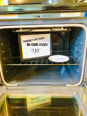 no buns in our oven FB